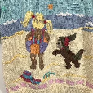 Berek. Marta D Sweaters - Vintage. 1988.  BEREK by Marta D. Handknit Sweater